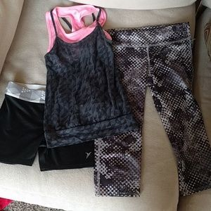 Girls Old Navy Active wear set size Medium